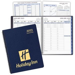 Time Management Planner w/ Leatherette Cover